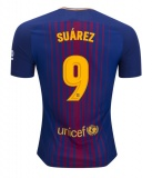 Home Authentic Jersey FC Barcelona 17/18 Suarez