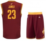 Lebron James Cavaliers road jersey + shorts (swingman)