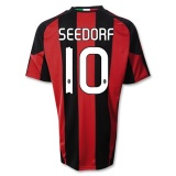 Home Jersey AC Milan 10/11 Clarence Seedorf