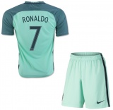 KIDS Away Jersey Portugal 2016 Ronaldo