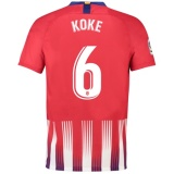 Home Jersey FC Atletico Madrid 18/19 Koke