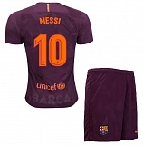KIDS Third Jersey FC Barcelona 17/18 Messi