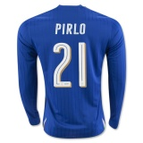 Home LS Jersey Italy 2016 Pirlo