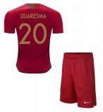 KIDS Home Jersey Portugal 2018 Quaresma