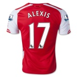 Home Jersey FC Arsenal 14/15 Alexis