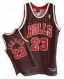 Michael Jordan black/red (swingman) jersey