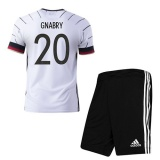 KIDS Home Jersey Germany 2020 Gnabry