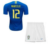 KIDS Away Jersey Brazil 2018 Marcelo