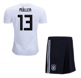 KIDS Home Jersey Germany 2018 Muller