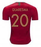 Home Jersey Portugal 2018 Quaresma