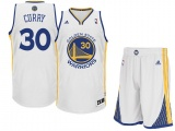 Stephen Curry Warriors Home jersey + shorts (swingman)