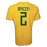 Home Jersey Brazil 11/12 Maicon