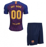 KIDS Home Jersey FC Barcelona 18/19 ANY NAME