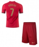 KIDS Home Jersey Portugal 2020 2021 Ronaldo