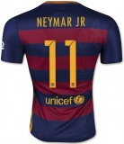 Home Authentic Jersey FC Barcelona 15/16 Neymar