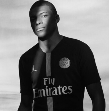 KIDS Third Jersey FC PSG 18/19 Mbappe