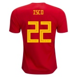 Home Jersey Spain 2018 Isco