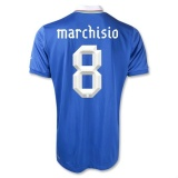 Home Jersey Italy 12/13 Marchisio
