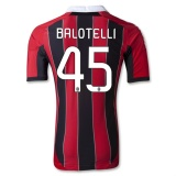 Home TECHFIT Jersey AC Milan 12/13 Balotelli