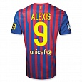 Home Jersey FC Barcelona 11/12 Alexis