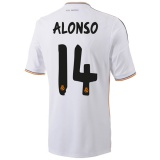 Home Jersey FC RM 13/14 Alonso