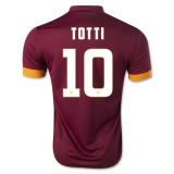 Home Jersey FC Roma 14/15 Totti