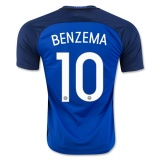 Home Jersey France 2016 Benzema