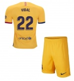 KIDS Away Jersey FC Barcelona 19/20 Vidal