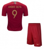 KIDS Home Jersey Portugal 2018 Andre Silva