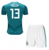 KIDS Away Jersey Germany 2018 Muller