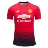 Home Authentic Jersey FC MU 18/19