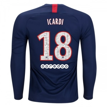 Home LS Jersey FC PSG 19/20 Icardi
