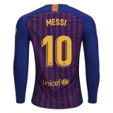 Home LS Jersey FC Barcelona 18/19 Messi