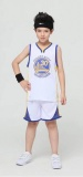 KIDS Stephen Curry Golden State Warriors Home jersey + shorts (replica)