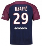 Home Jersey FC PSG 17/18 Mbappe