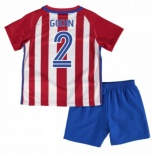 KIDS Home Jersey FC Atletico Madrid 16/17 Godin