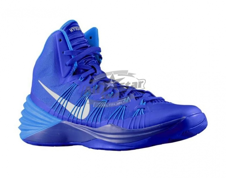 newest 3962b 9aae1 Nike Hyperdunk 2013 (Game Royal Blue Hero Metallic Silver)