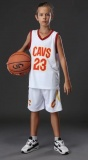 KIDS Lebron James Cavaliers Home jersey + shorts (replica)