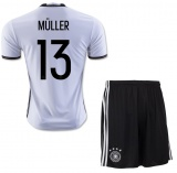 KIDS Home Jersey Germany 2016 Muller