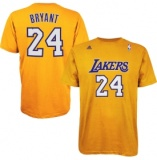 Lakers Yellow T-Shirt Bryant