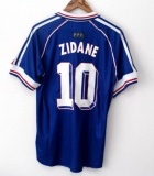 Home Retro 1998 Jersey France Zidane