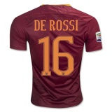 Home Jersey FC AS Roma 16/17 De Rossi