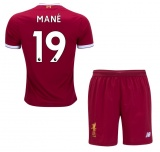 KIDS Home Jersey FC Liverpool 17/18 Mane