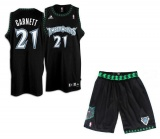 Kevin Garnett Minesotta Timberwolves Alternate jersey + shorts (swingman)