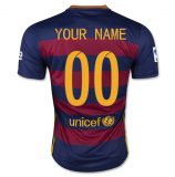 Home Jersey FC Barcelona 15/16 YOUR NAME