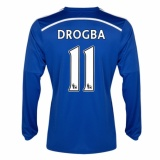 Home LS Jersey FC Chelsea 14/15 Drogba