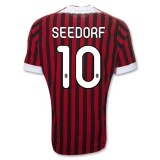 Home Jersey AC Milan 11/12 Seedorf
