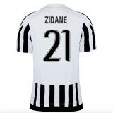 Home Authentic Jersey FC Juventus 15/16 Zidane