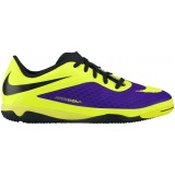 Nike Hypervenom Phelon IC (Electro Purple and Volt)