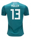 Away Jersey Germany 2018 Muller